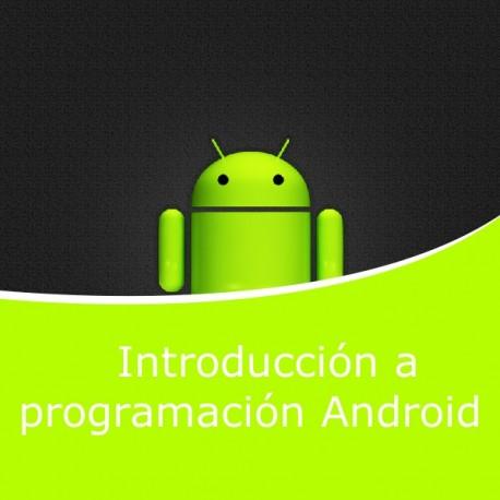Introducción a programación Android (Online)
