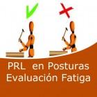 Prevención en posturas evaluación fatiga (Online)