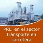 Prevención en sector transporte por carretera (Online)