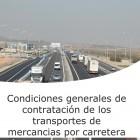Condiciones generales de contratación de los transportes de mercancías por carretera (On line)