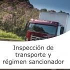 Inspección de transporte y régimen sancionador (On line)