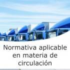 Normativa aplicable en materia de circulación (On line)