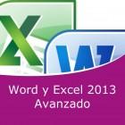 Word 2013 y Excel 2013 Avanzado Pack (Online)