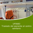 Traslado del paciente al centro sanitario (Online)