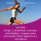 Dirigir y dinamizar eventos, actividades y juegos para animación físico deportiva y recreativa (Online)