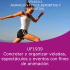 Concretar y organizar veladas, espectáculos y eventos con fines de animación (Online)
