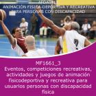 Eventos, competencias recre, actividad y jueg anima fisico-deportiva y recreativa para discapa fisica (Online)
