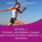 Eventos, actividades y juegos para animación físico deportivas y recreativas (Distancia)