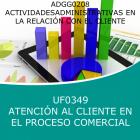 Atención al Cliente en el Proceso Comercial (Online)