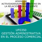 Gestión Administrativa del Proceso Comercial (Online)