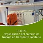 Organización del entorno de trabajo en transporte sanitario (Distancia)
