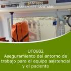Aseguramiento del entorno de trabajo para el equipo asistencial y el paciente (Distancia)