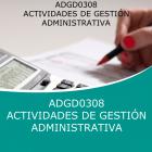 ACTIVIDADES DE GESTIÓN ADMINISTRATIVA (Distancia)