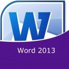 Word 2013 (Online)