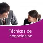 Técnicas de negociación (Online)