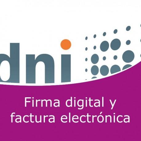 Firma digital y factura electrónica (Online)